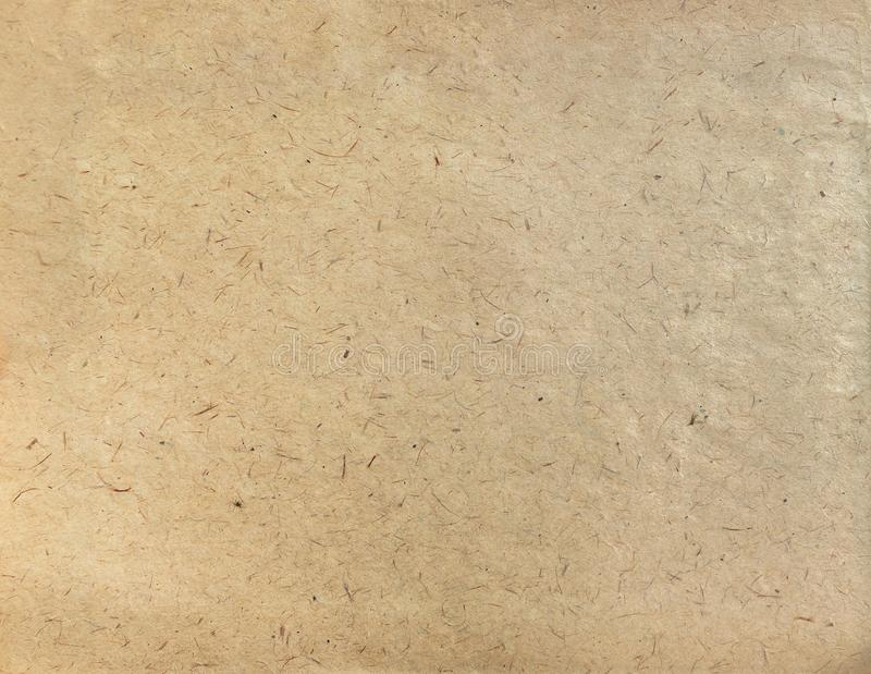 Textured craft paper, background texture royalty free stock photography
