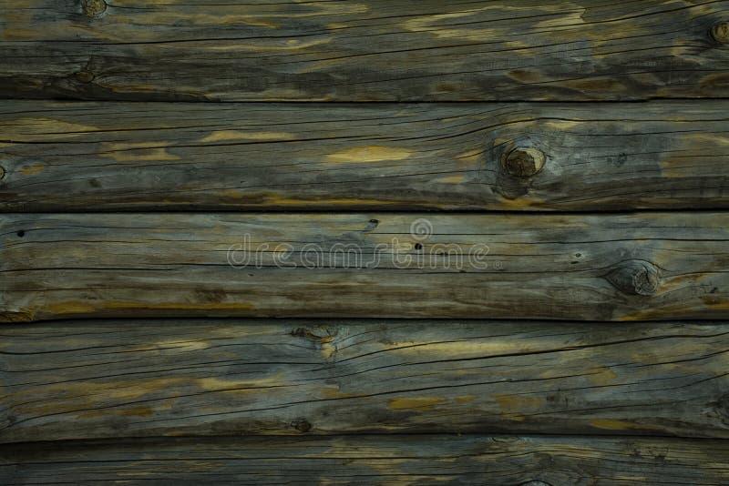 Textured drewniany horyzontalny t?o z kopii przestrzeni? Horyzontalni pok?ada miejsce tekst obrazy stock