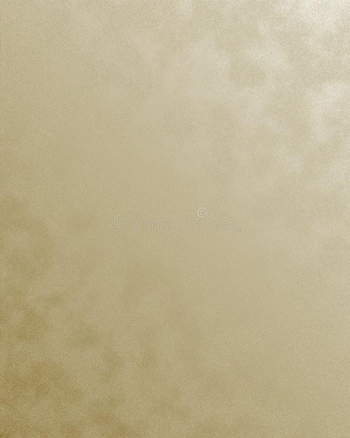 Textured Gold Background stock illustration