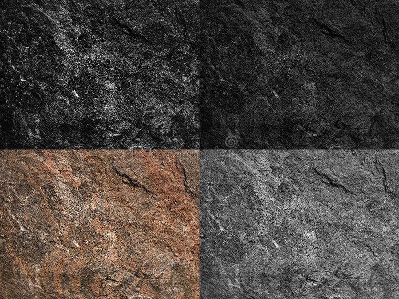 Textured granite backgrounds stock image