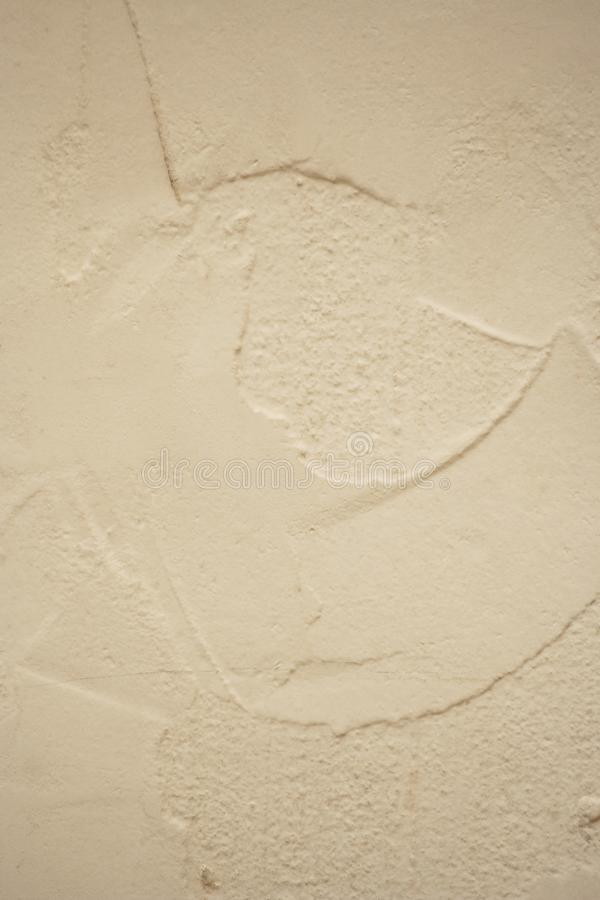 Stucco Background. Textured Grayish Surface, Stucco Background royalty free stock photography