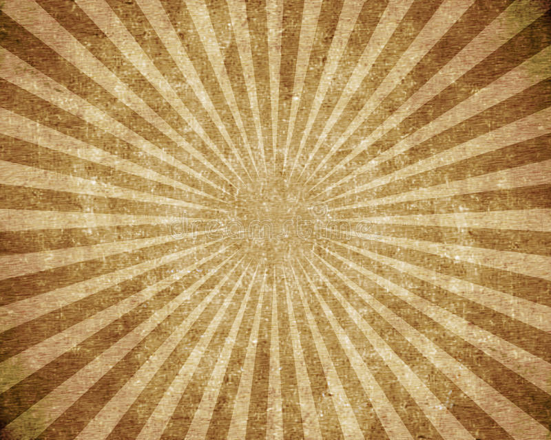 Textured grunge burst. Brown background royalty free stock photo