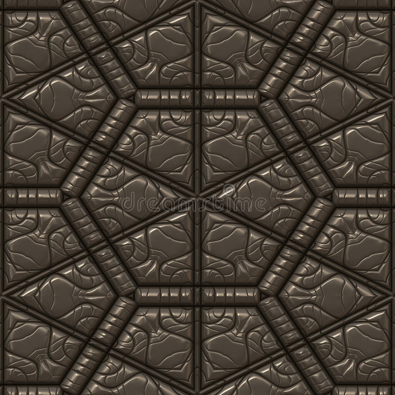 Download Textured leather tile stock illustration. Image of quality - 15313237
