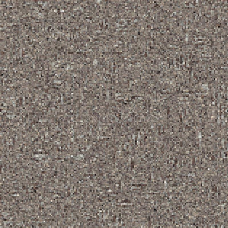 Textured Mały Brown Obciosuje mozaiki tło obrazy stock