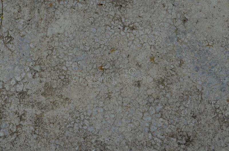 Textured moździerza beton fotografia stock
