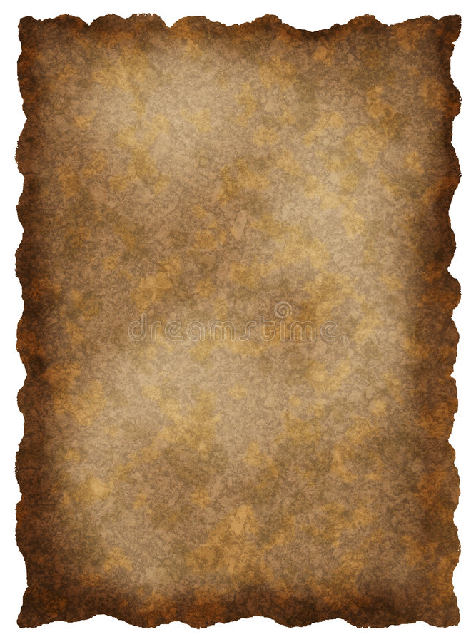 Textured old parchment vector illustration