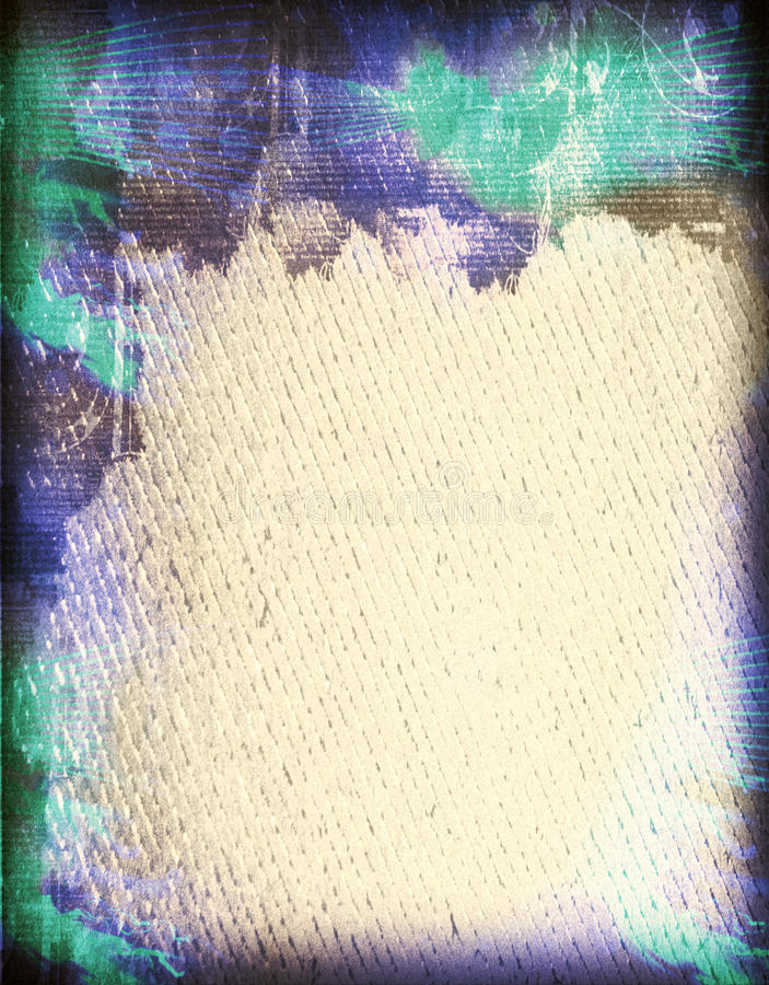Textured Paper With Border royalty free stock photos