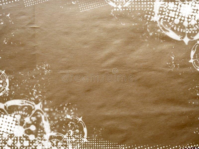 Textured para trás ilustração stock