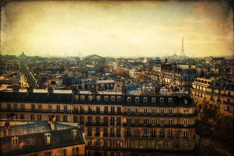 Textured Picture From Paris Stock Photos