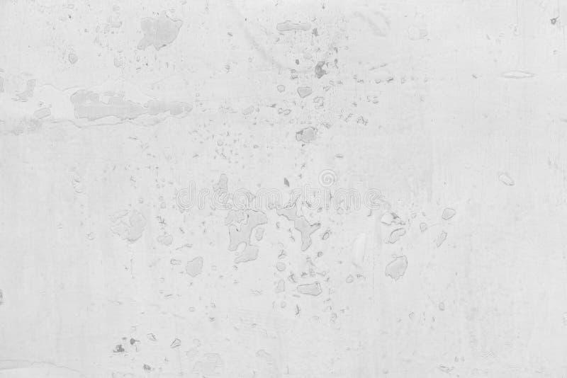 Textured przemysłowego grunge biały tło obieranie farba zdjęcia stock
