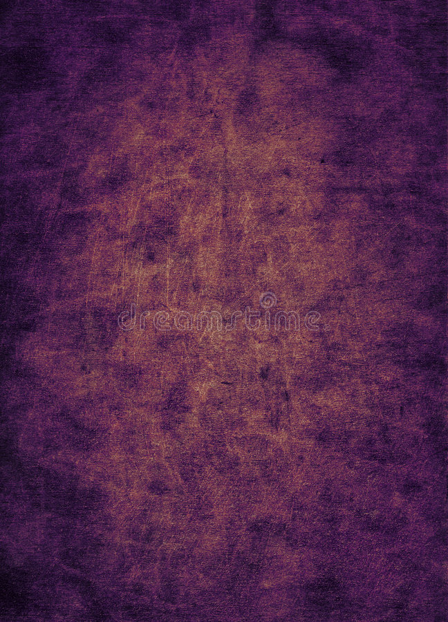 Textured purple leather stock image