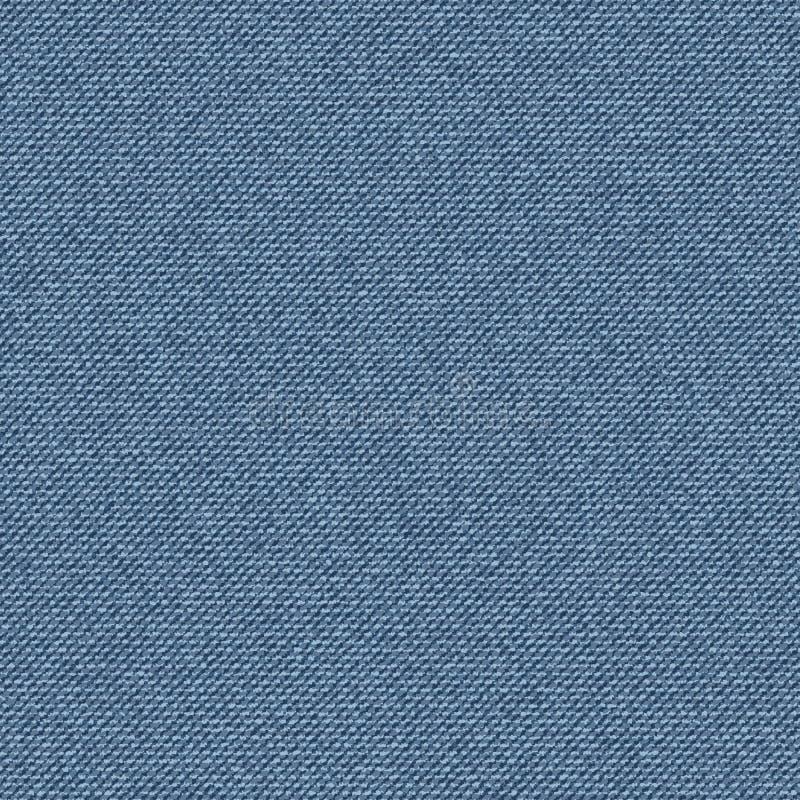 Textured rayó el dril de algodón de los tejanos inconsútil ilustración del vector