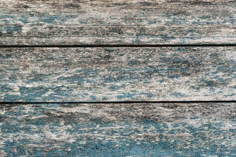 Textured resistió al fondo de madera con los tableros horizontales foto de archivo