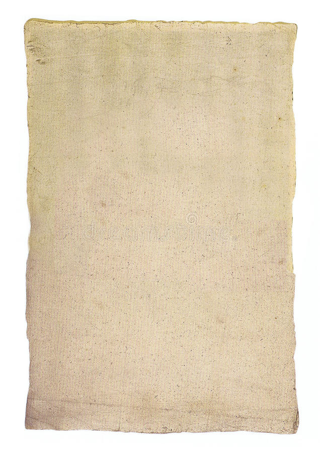 Download Textured Sheet Of Old Paper Stock Photo - Image: 14871390