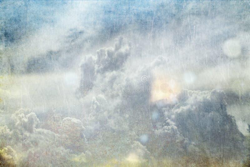 Textured Sky Stock Photography