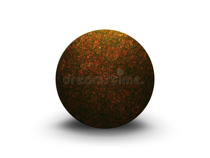 Textured Sphere Stock Images