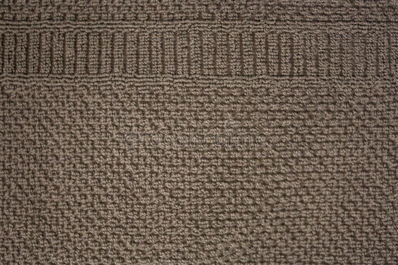 Textured sukienny tło z brązu ekranu wzorem zdjęcia royalty free