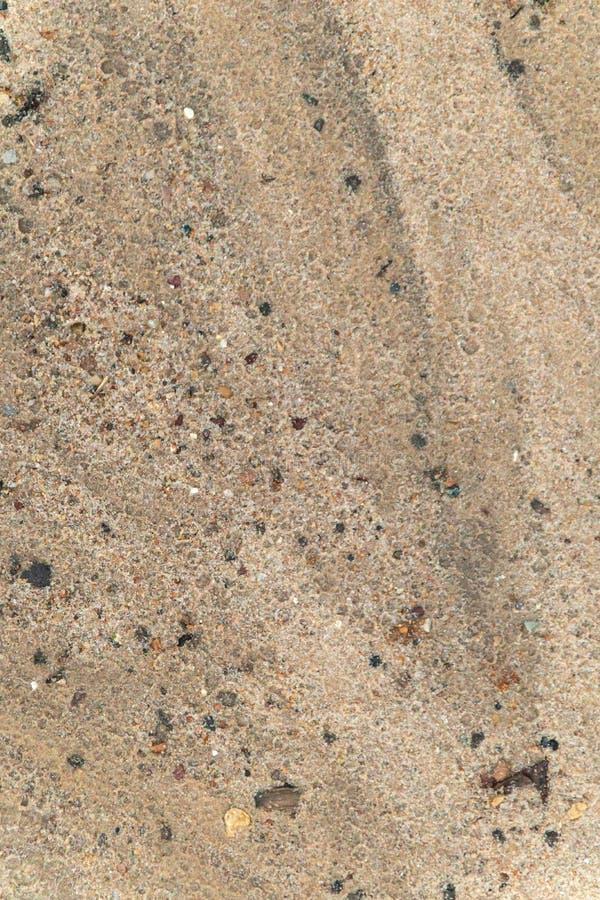 Textured tło robić piasek wody plama zdjęcia stock