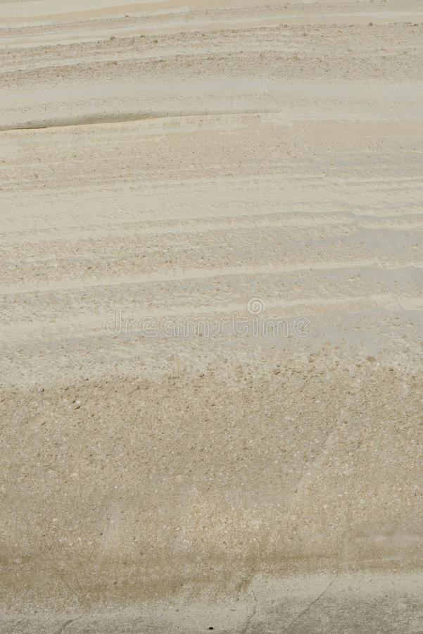 Textured vaggar på den Sarakiniko stranden arkivfoto