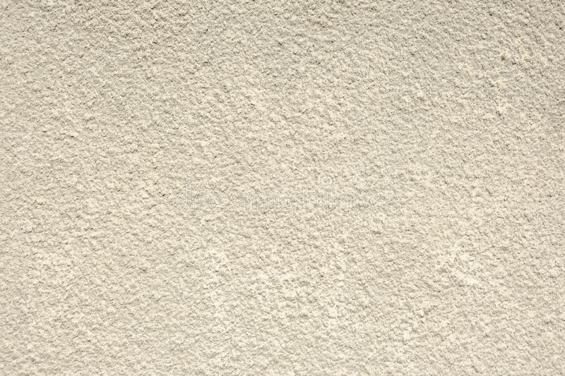 Textured wall, decorative plaster, light background with texture stock photo