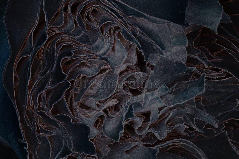 Textured wzór w ciemnych kolorach fotografia stock