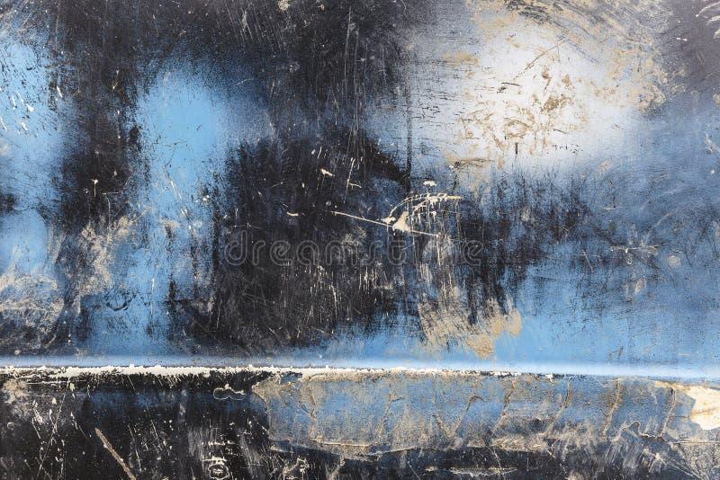 Texturen av den gamla bildörren fotografering för bildbyråer