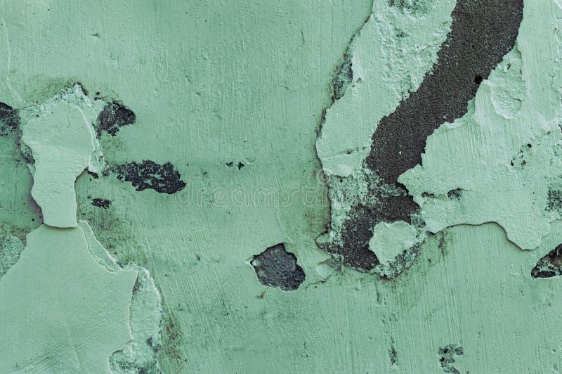 Texturen av den målade betongväggen Närbild royaltyfri bild