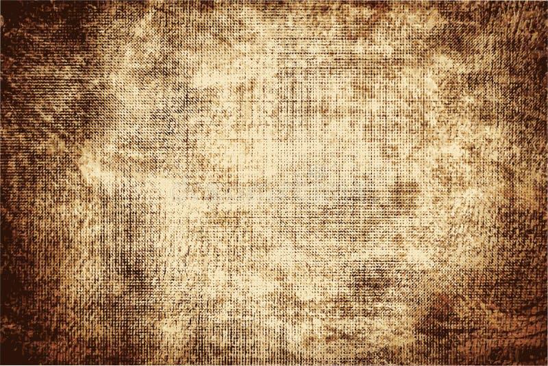 Texturen av det gamla papperet som göras mörkare vid tid arkivfoto