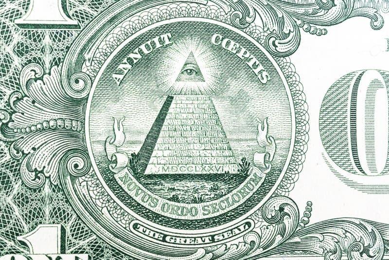Texturen av dollaren royaltyfri foto