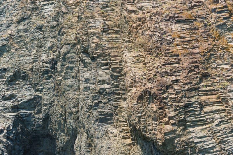 Texturen av klippan Karadag fotografering för bildbyråer