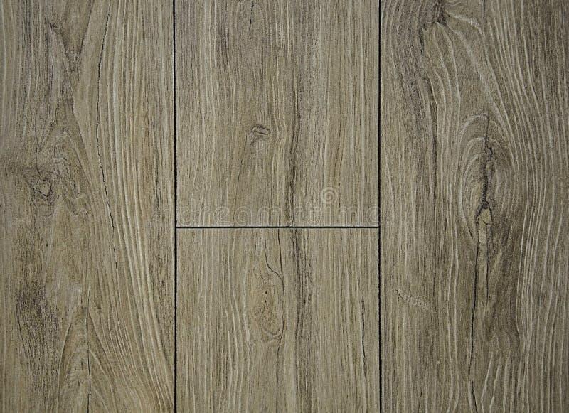 Texturen av naturligt trä Grå bakgrund, med vågor av strukturen och den mörka glödtråden royaltyfria foton