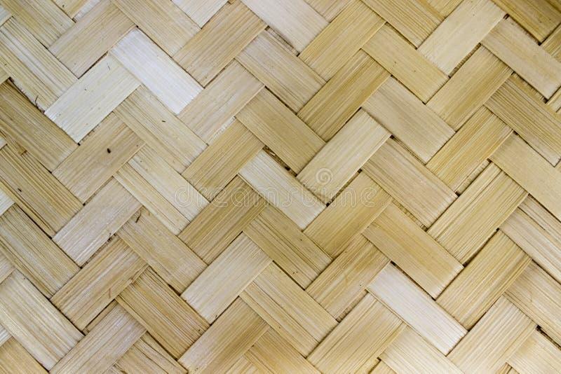 Texturen av trä-väven royaltyfria bilder