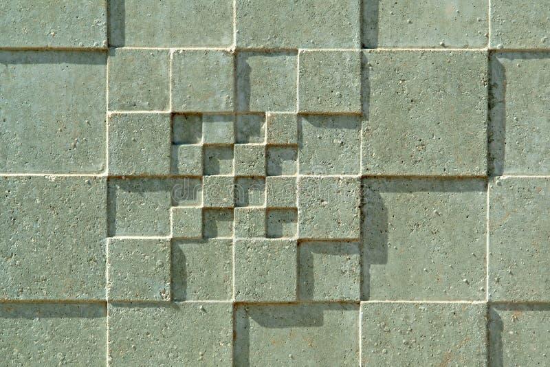 Texturen in concrete muur royalty-vrije stock foto's