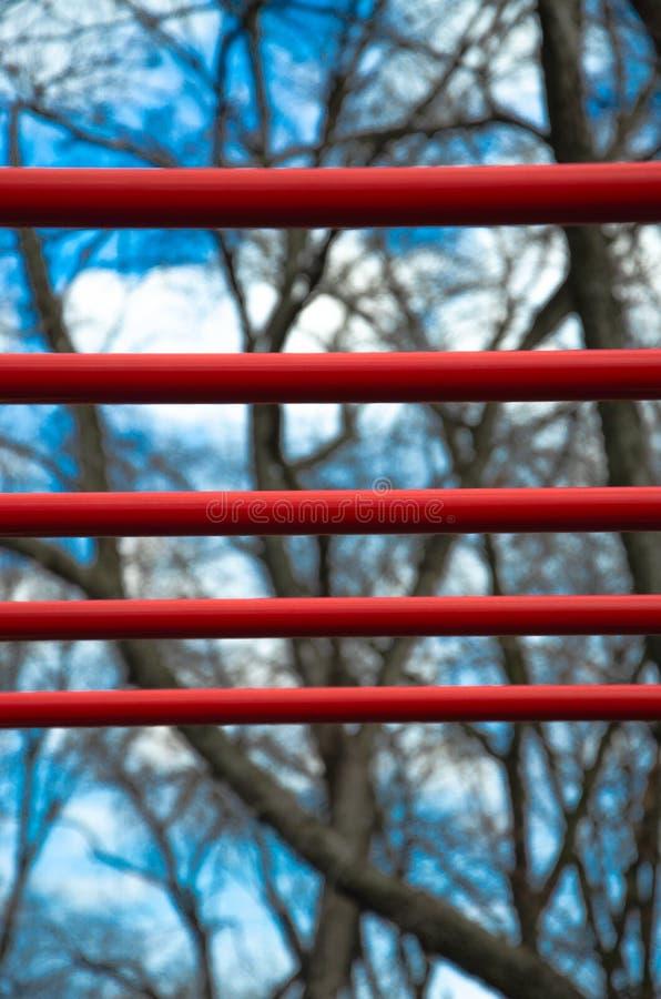 Texturen in de stad, park stock foto's