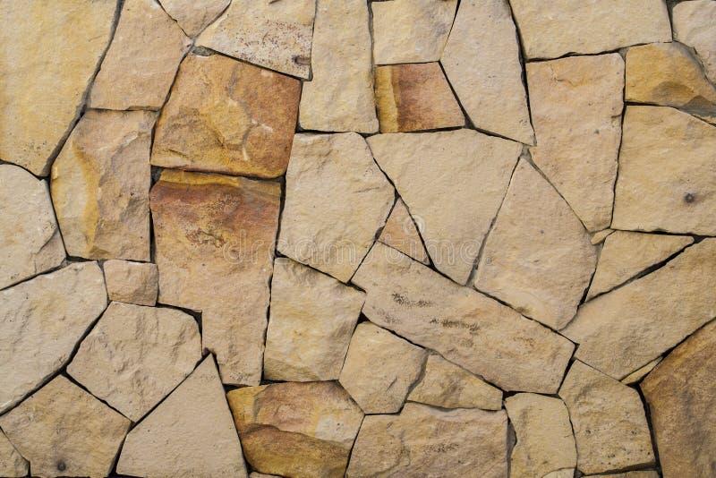 Texturen och modellen av rockväggen arkivbild