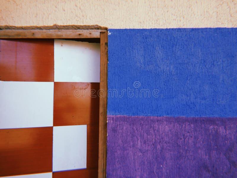Texturen over schaak en diversiteit stock afbeelding