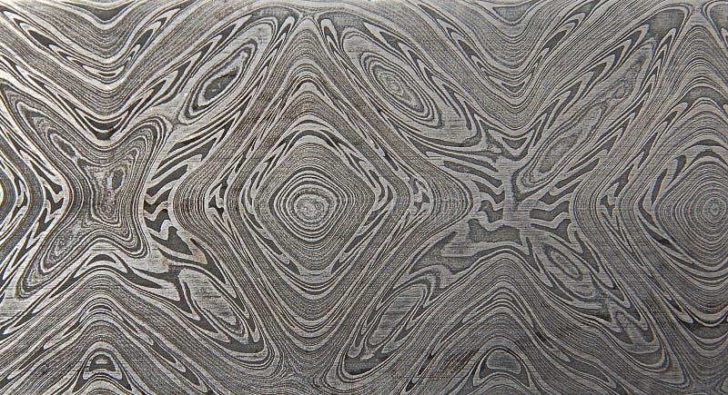 Texturen van Grunge de geometrische die moqueme gane van met de hand gemaakt metaal worden gemaakt stock foto's