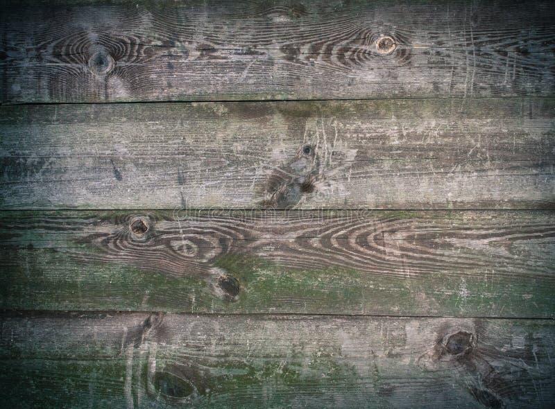 Texturen van oude sjofele houten planken stock afbeelding