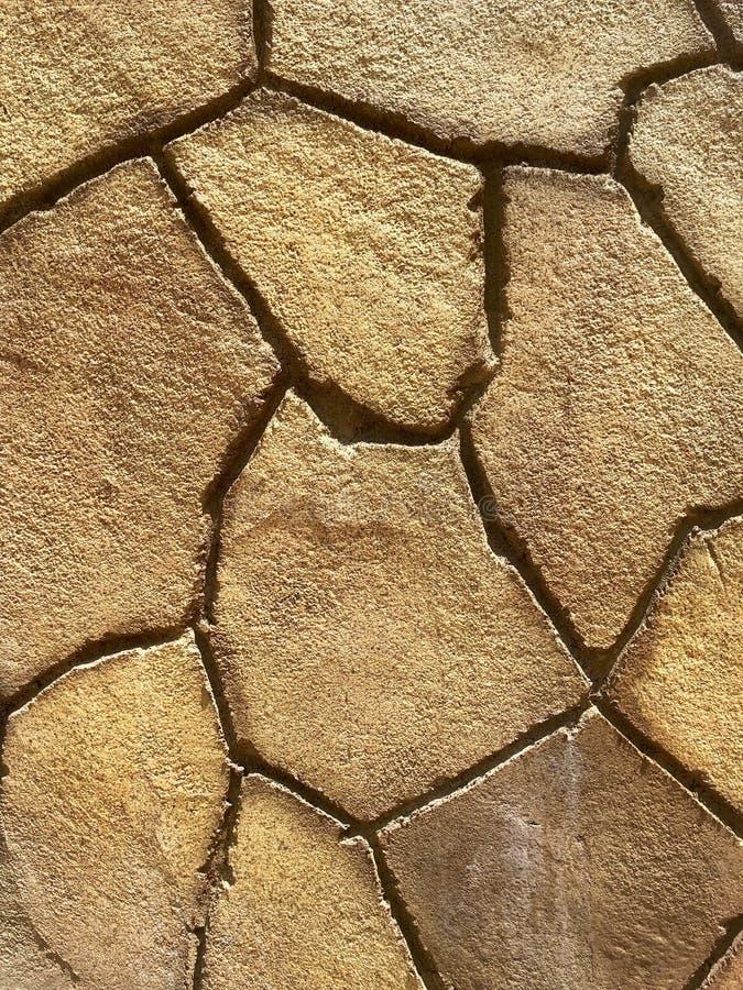 Texturenhout en stenenplaten stock foto