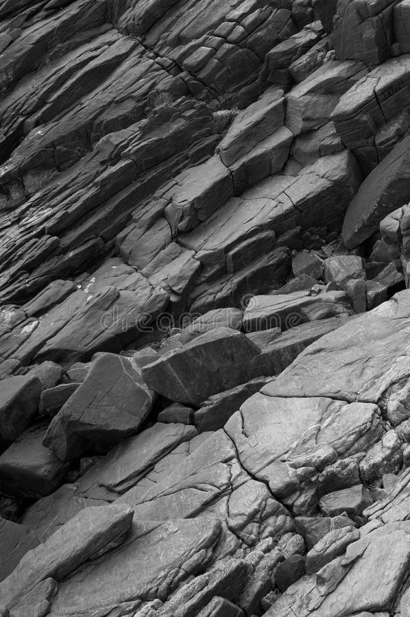 Texturer vaggar och stenar naturen royaltyfria foton