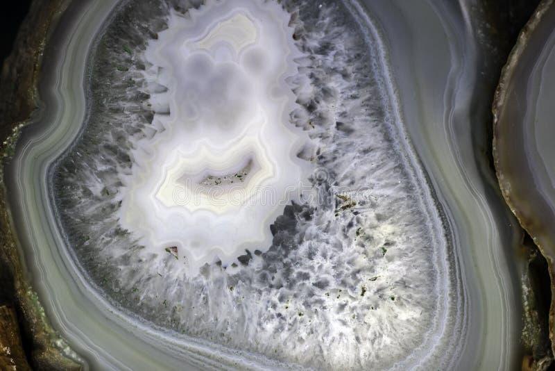 Texturera av agaten arkivfoton