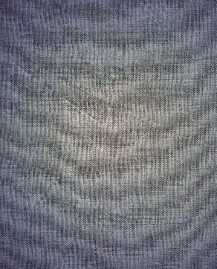 Texturera av urblektt linne royaltyfria bilder
