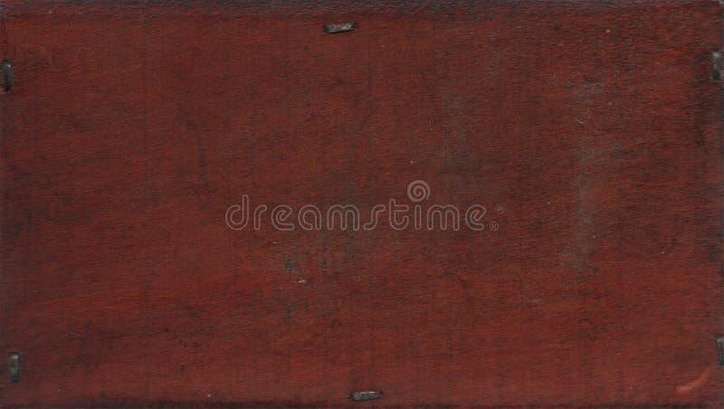 Texturera botten av den gamla forntida antika casketen arkivbild