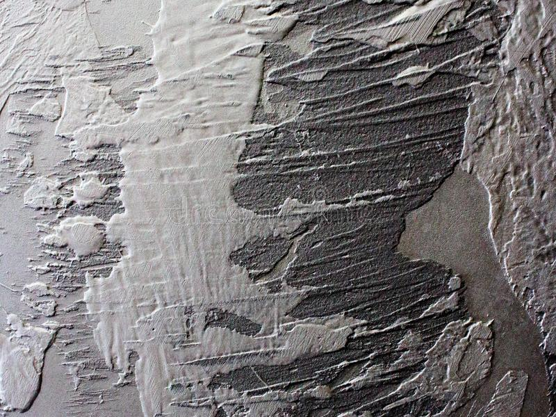 Texturera dekorativa grå färger för väggen royaltyfria foton