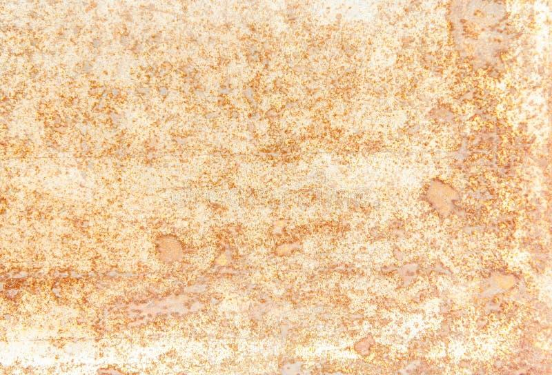 Texturera rostbakgrund, gammal metalljärnrost, rostat stål arkivfoton