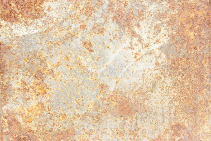 Texturera rostbakgrund, gammal metalljärnrost, rostat stål arkivfoto