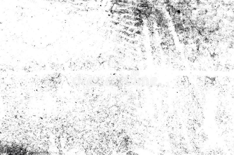 Texturera svartvit abstrakt grungestil Abstrakt textur för tappning av gammal yttersida Modell och textur av sprickor, skrapor, stock illustrationer