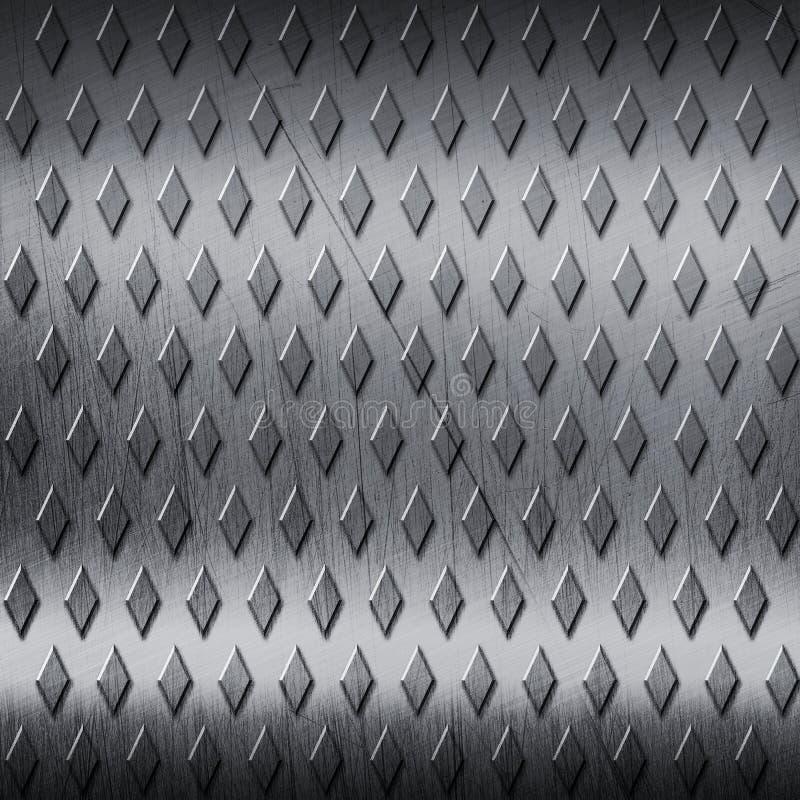 texturerad bakgrundsmetall stock illustrationer