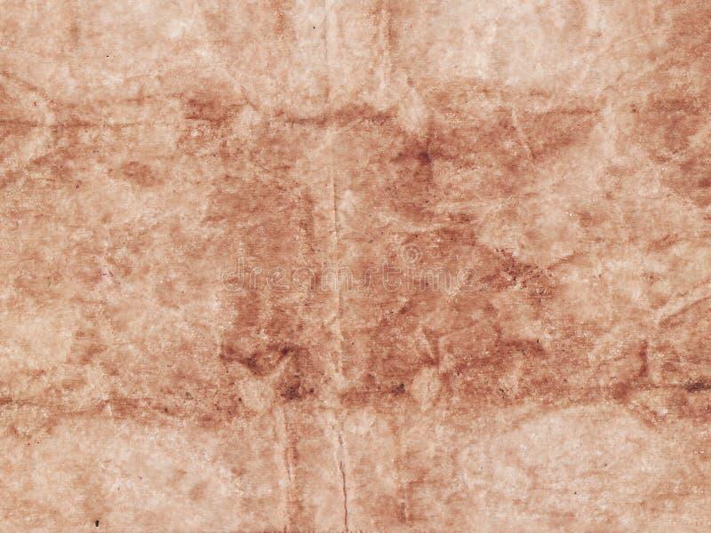 Texturerad beige bakgrund för abstrakt gammalt pappers- ark kopiera avst?nd arkivbilder