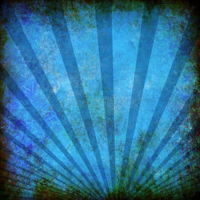texturerad blå grunge för abstrakt bakgrund vektor illustrationer